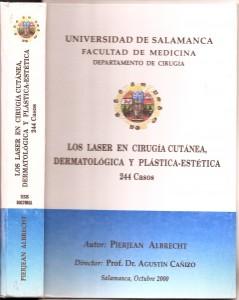 Tesis Doctoral de Cirugia Plastica Estetica - Pierjean (pierre) Albrecht
